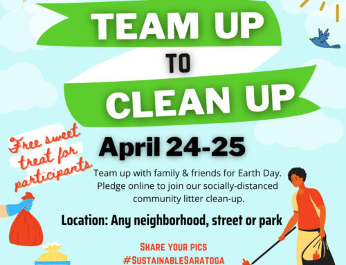 Team Up to Clean Up with Sustainable Saratoga